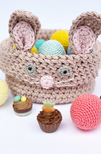 Crochet Easter Basket {Free Pattern}