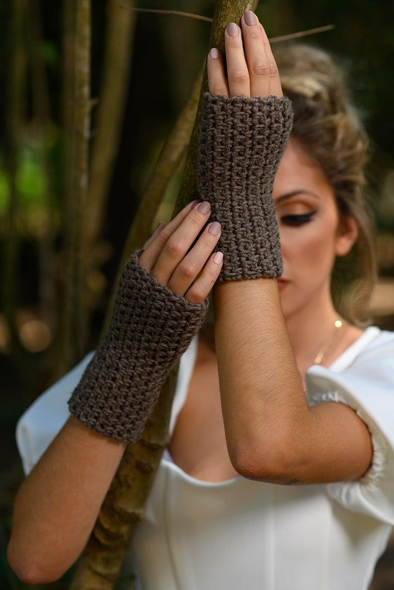 crochet fingerless gloves Outlander inspired