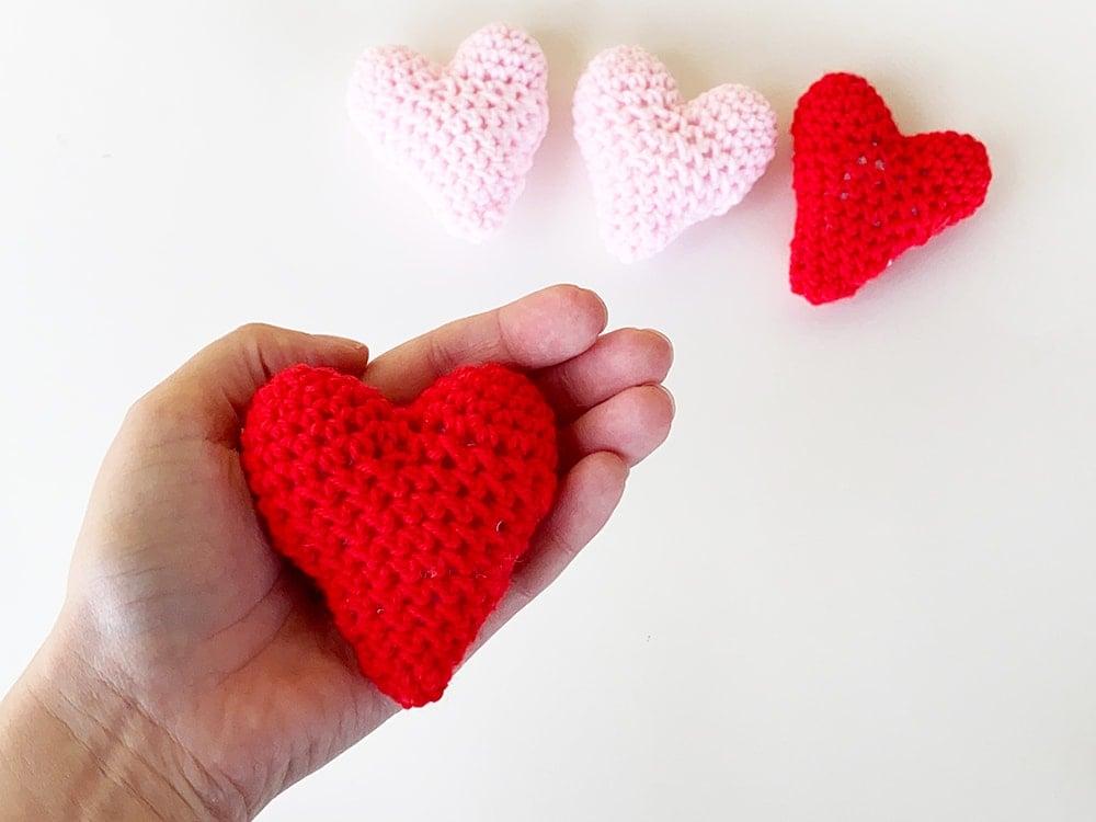 crochet heart appeal