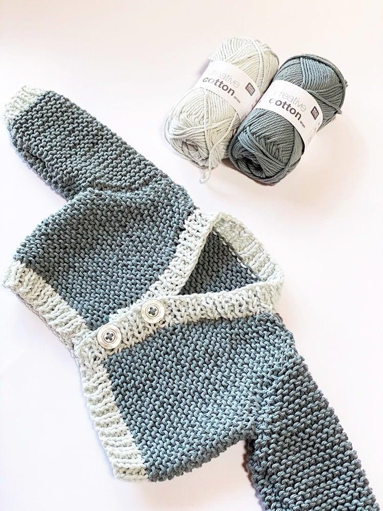 baby cardigan knitting pattern