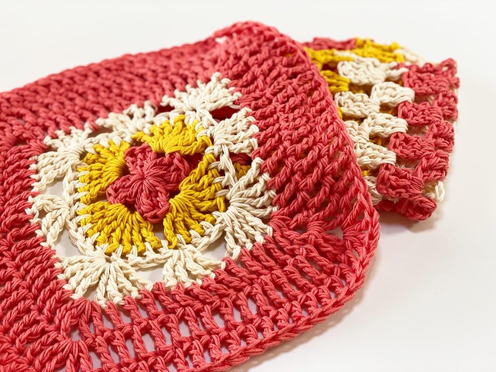 easy crochet washcloth