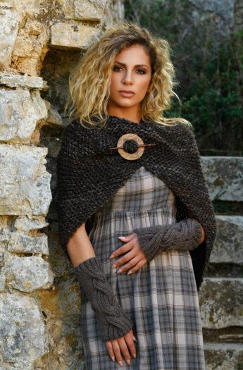 Sassenach Tassel Shawl Knitting Pattern