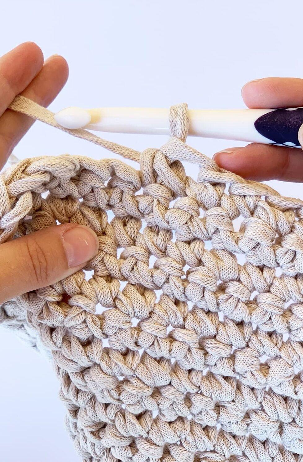 single crochet decrease with hook