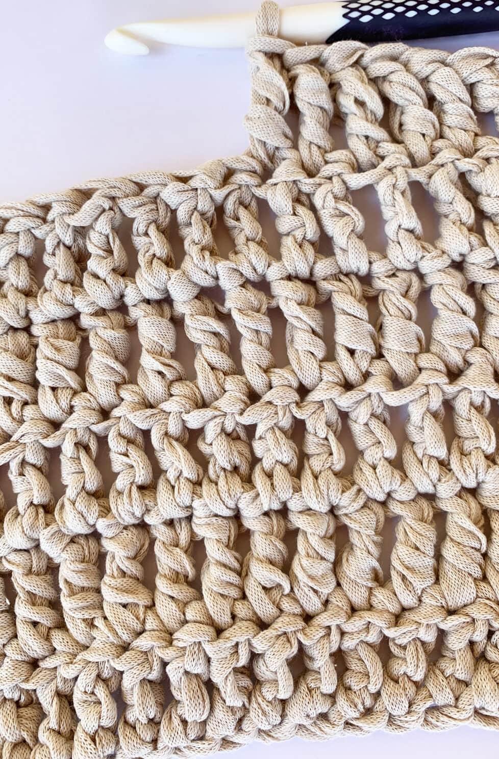 triple crochet stitch pattern