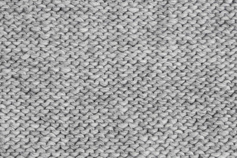example of purl stitches in knitting