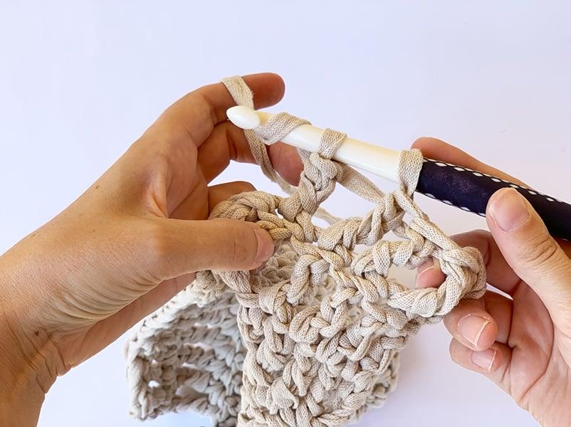 yarn over the hook