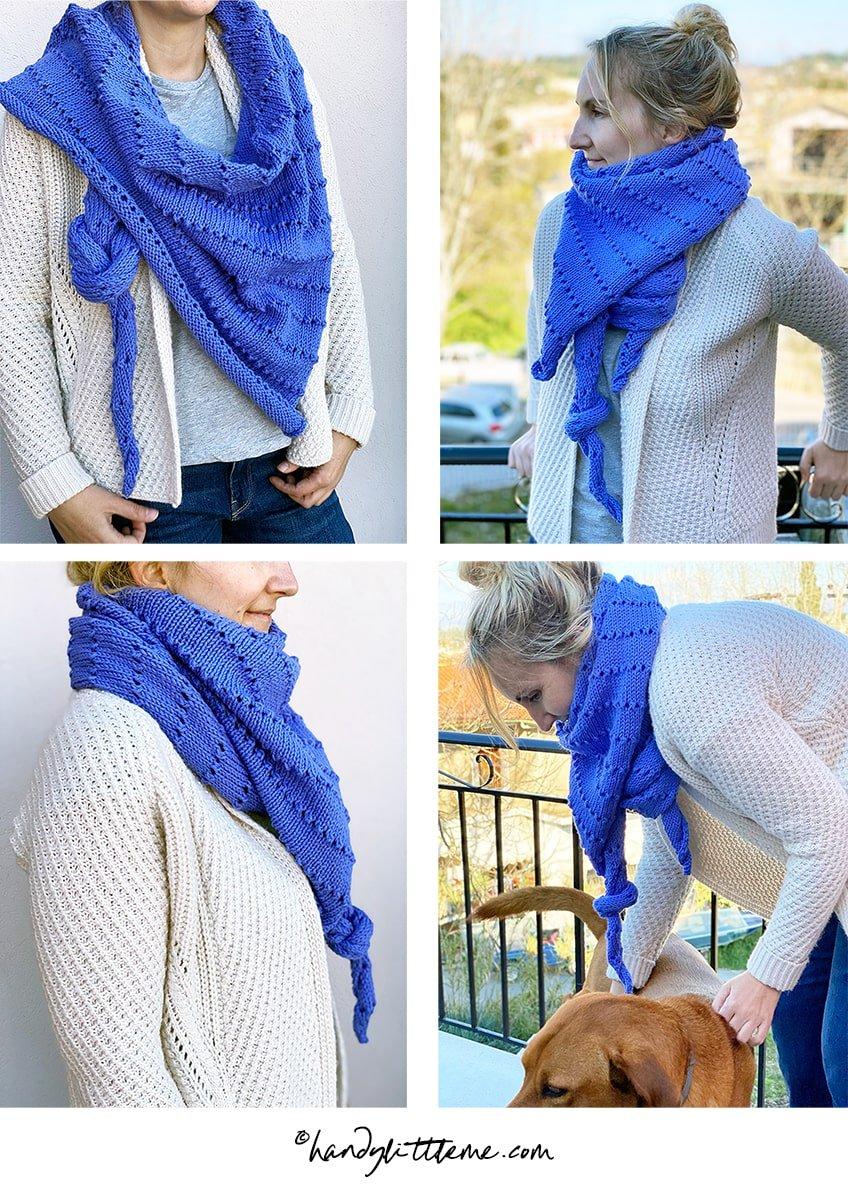 shawl knitting patterns for spring