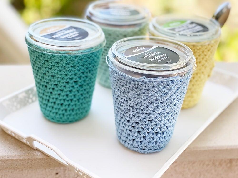 helado acogedor crochet