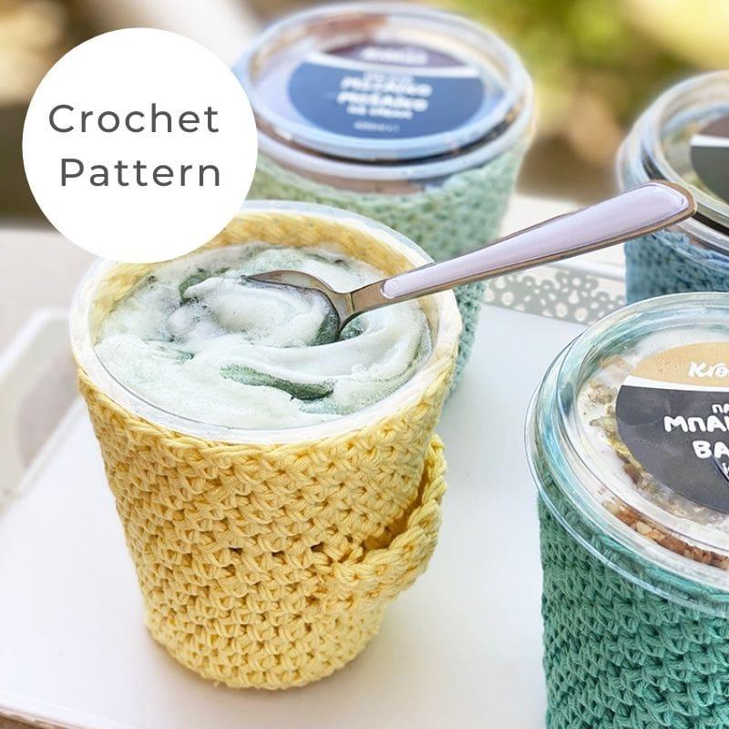 ice cream koozie pattern