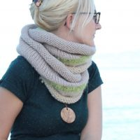 Knit Infinity Scarf | The Philomena