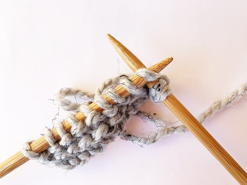 continue knitting your row