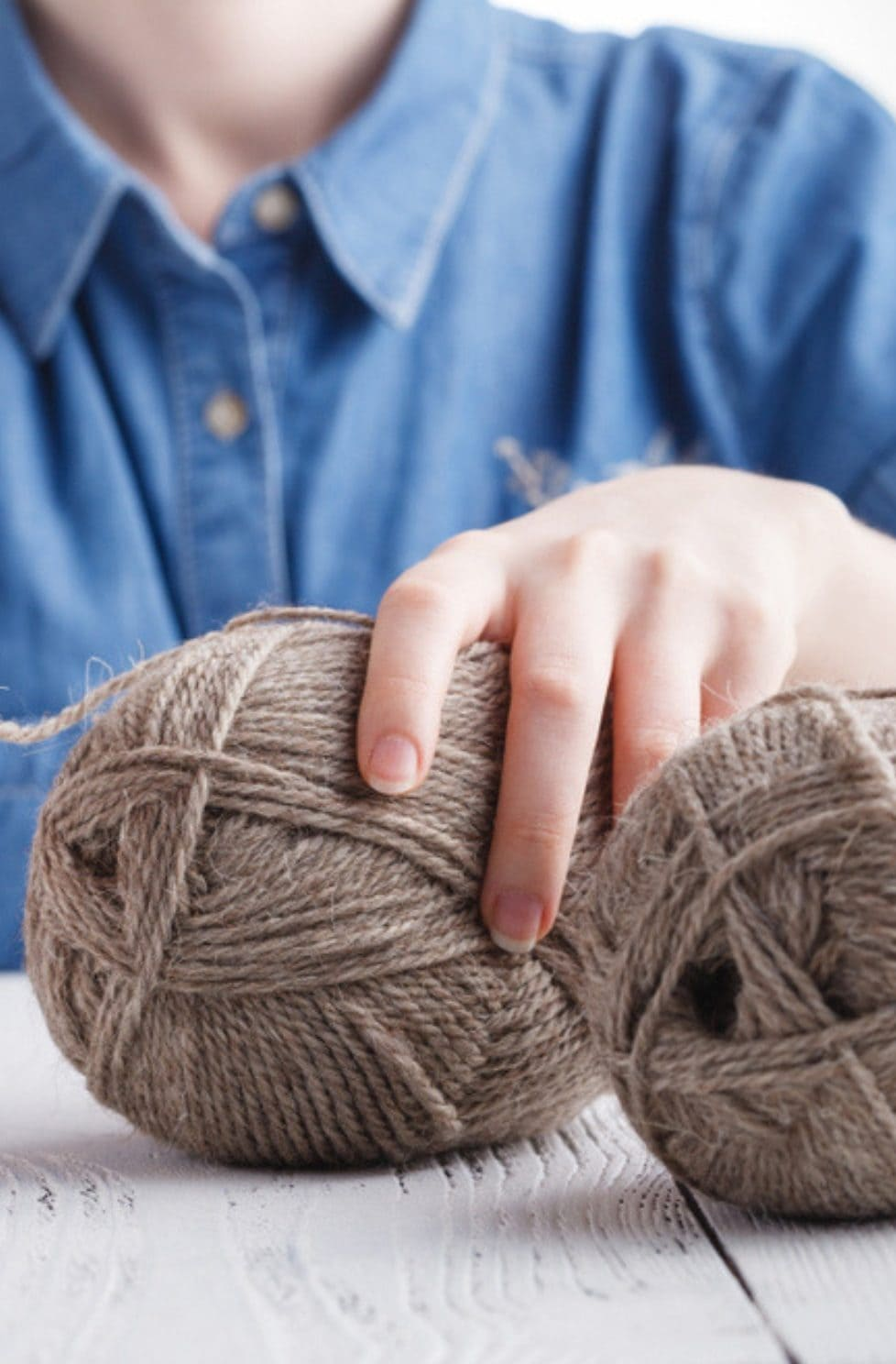 How To Knit With Two Strands Of Yarn Together