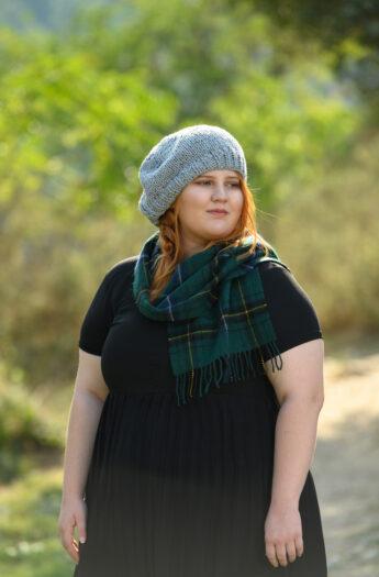 Scottish Beret Outlander Knitting Pattern