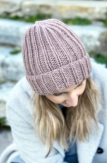How To Knit A Hat With Straight Needles