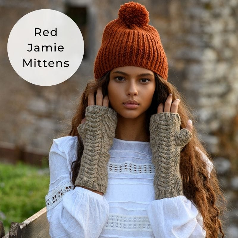 red jamie mitts