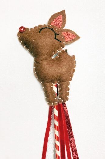 Felt Reindeer Craft   Make A Wand or Ornament!