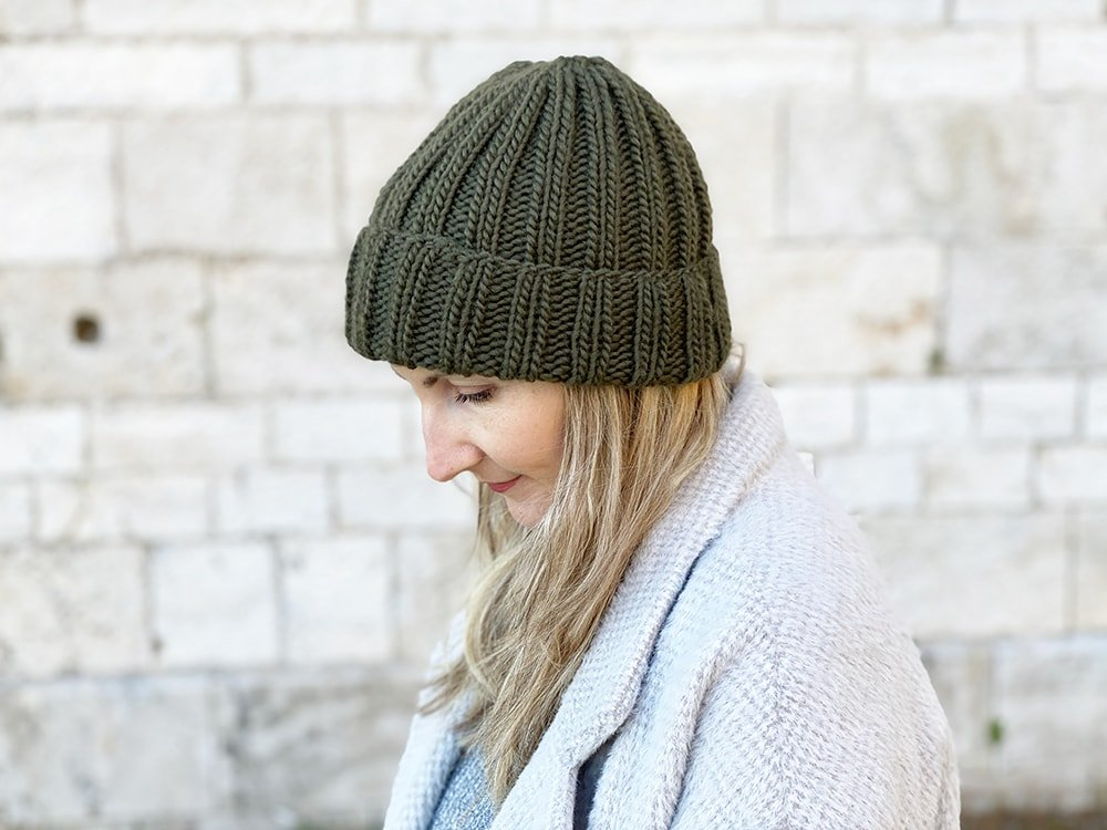 ribbed mariner's hat