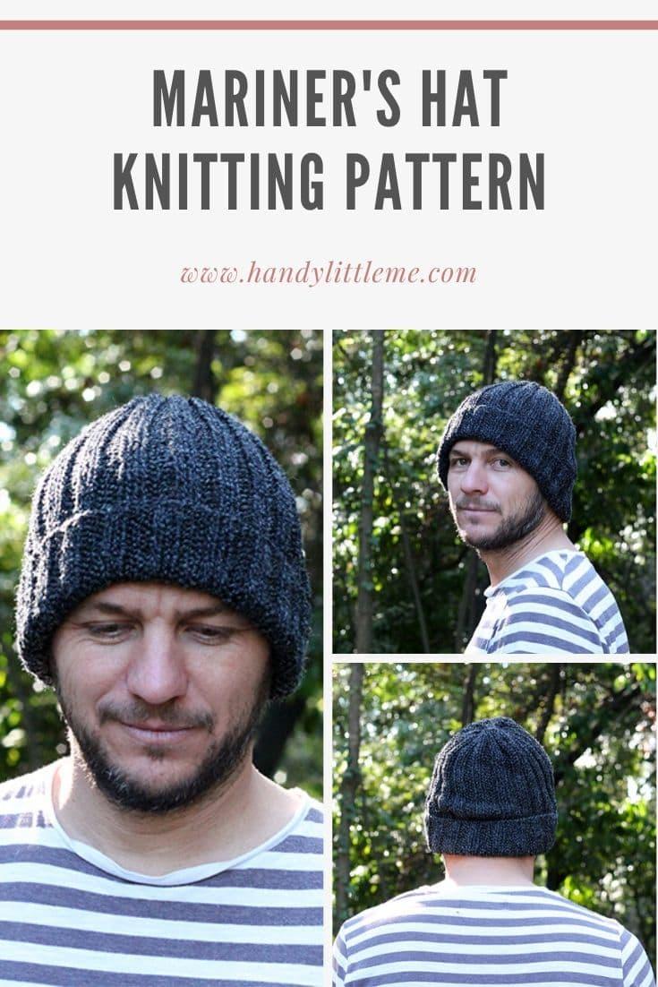 Seaman's watch cap knitting pattern