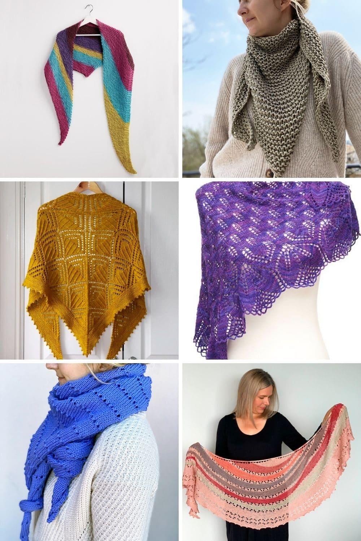 shawl knitting patterns feat image