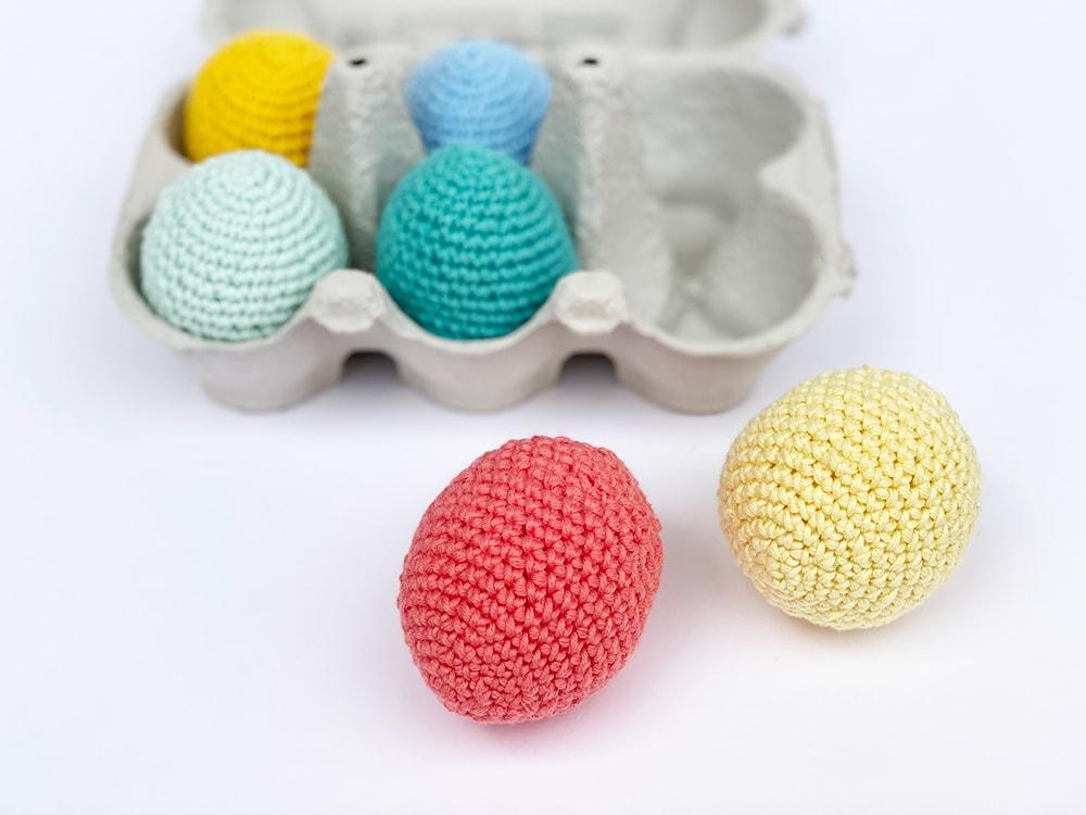 small crochet egg