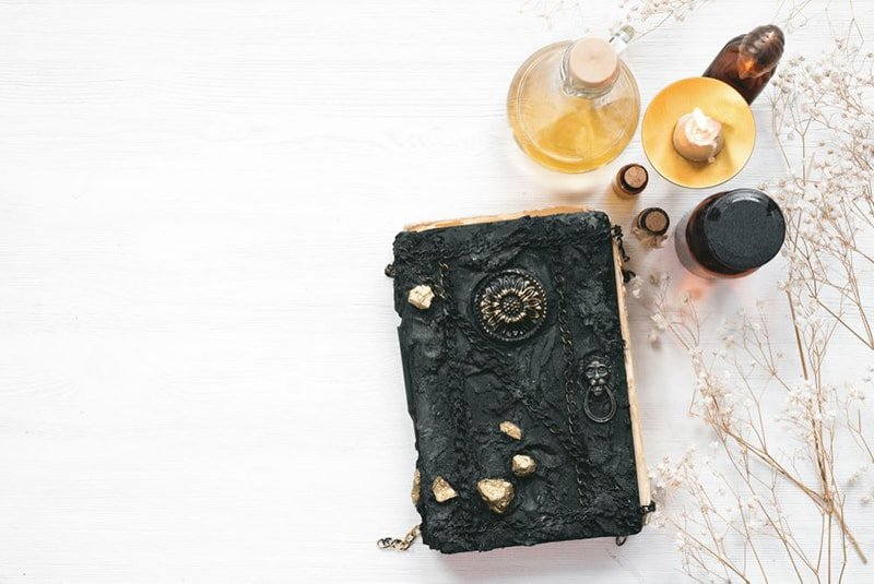 Hocus pocus witches spellbook and potions