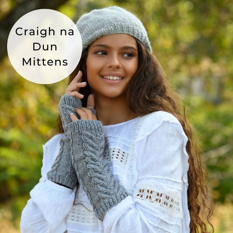 staghorn cable mittens