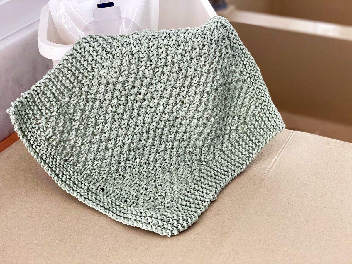 washcloth knitting pattern