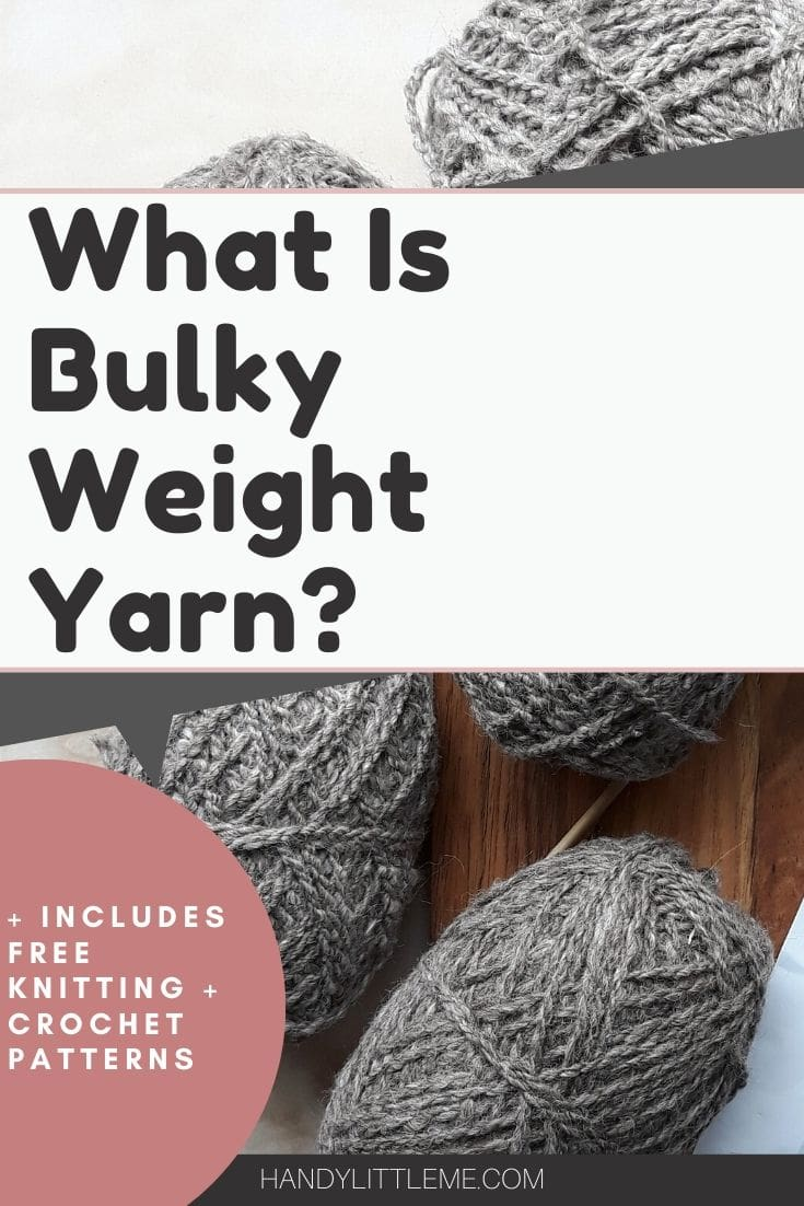 what is bulky weight yarn