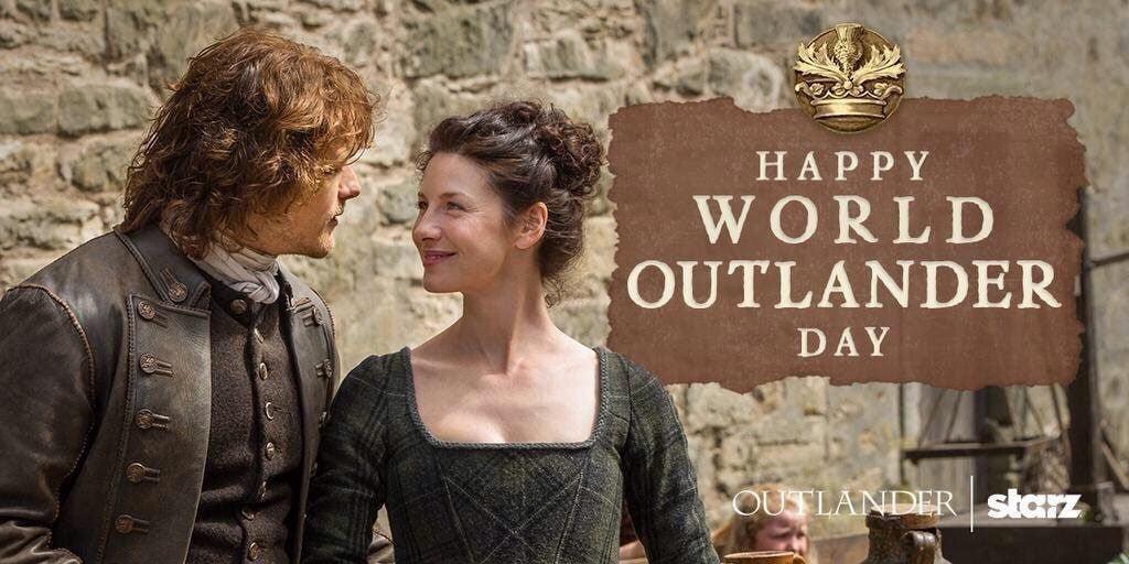 world Outlander day