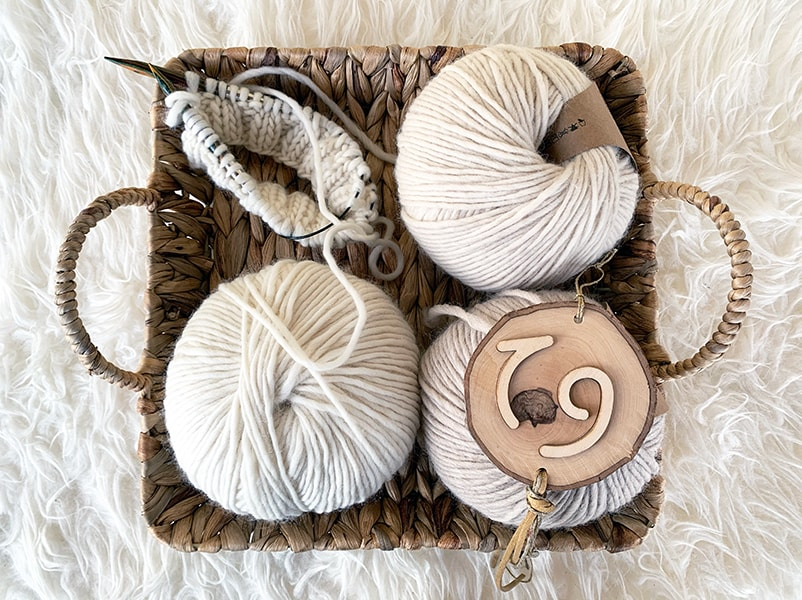 yarn basket and free patterns